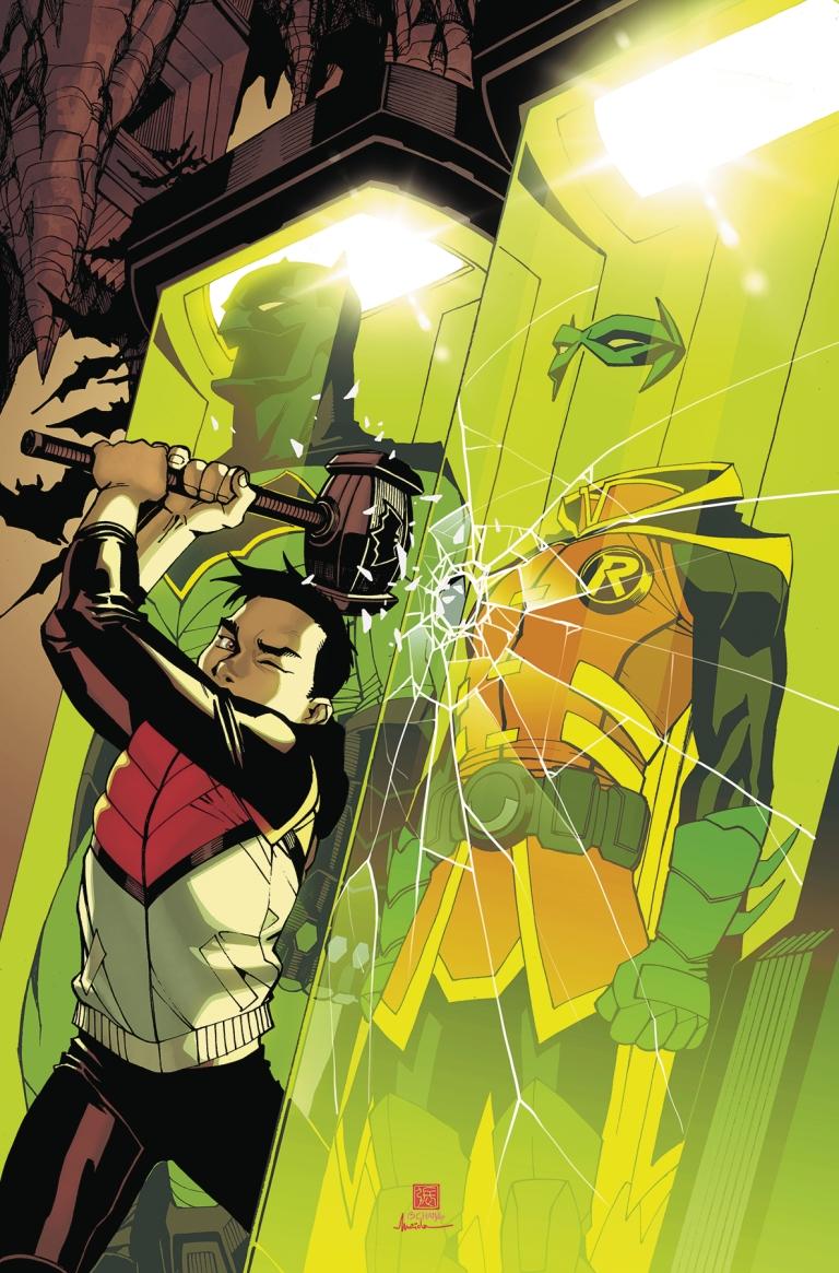 Batman Beyond #18 (Cover A Bernard Chang)