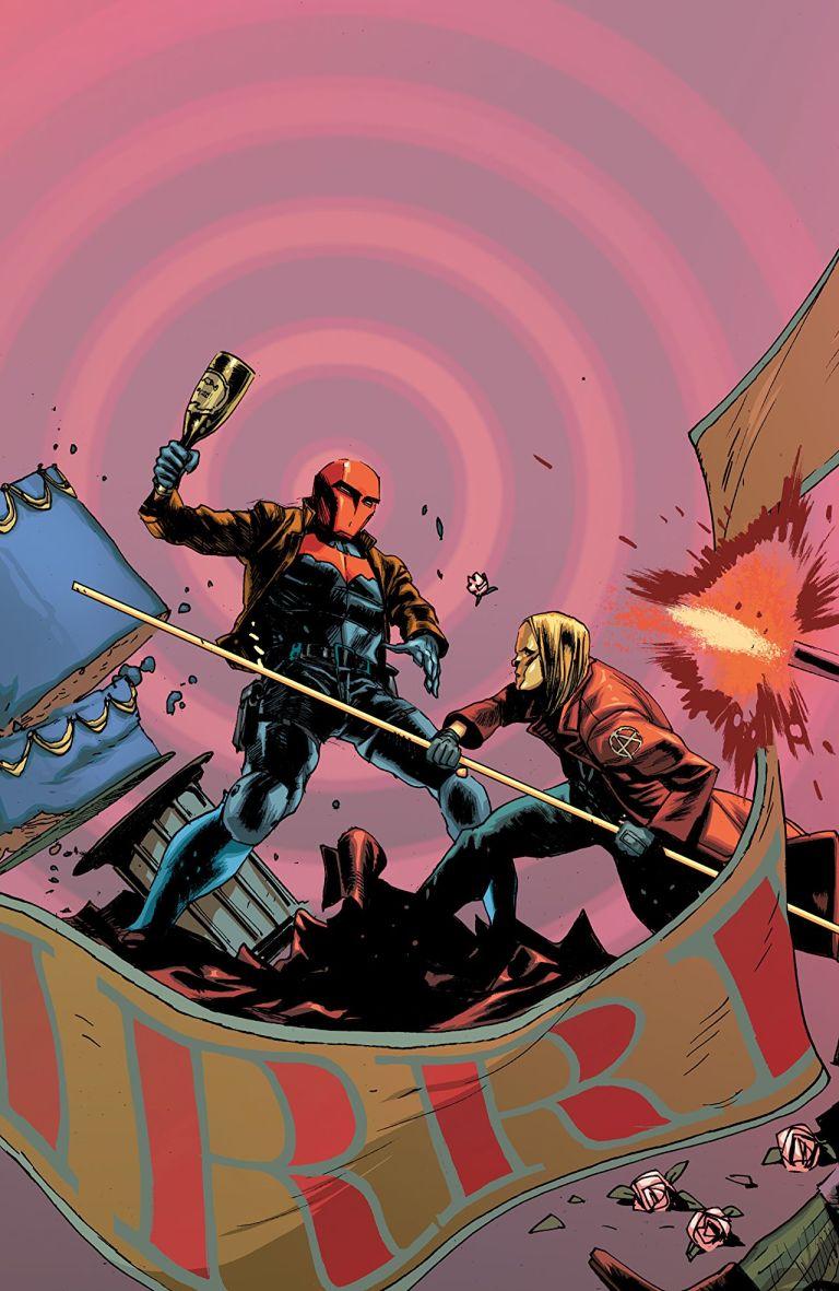 Batman Prelude To The Wedding Red Hood Vs Anarky #1 (Rafael Albuquerque Cover)