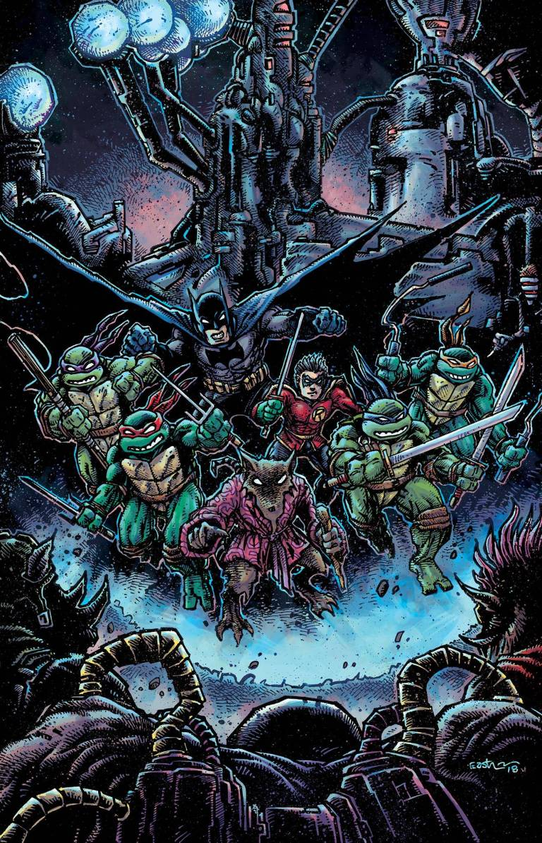 Batman Teenage Mutant Ninja Turtles II #4 (Cover B Kevin Eastman)