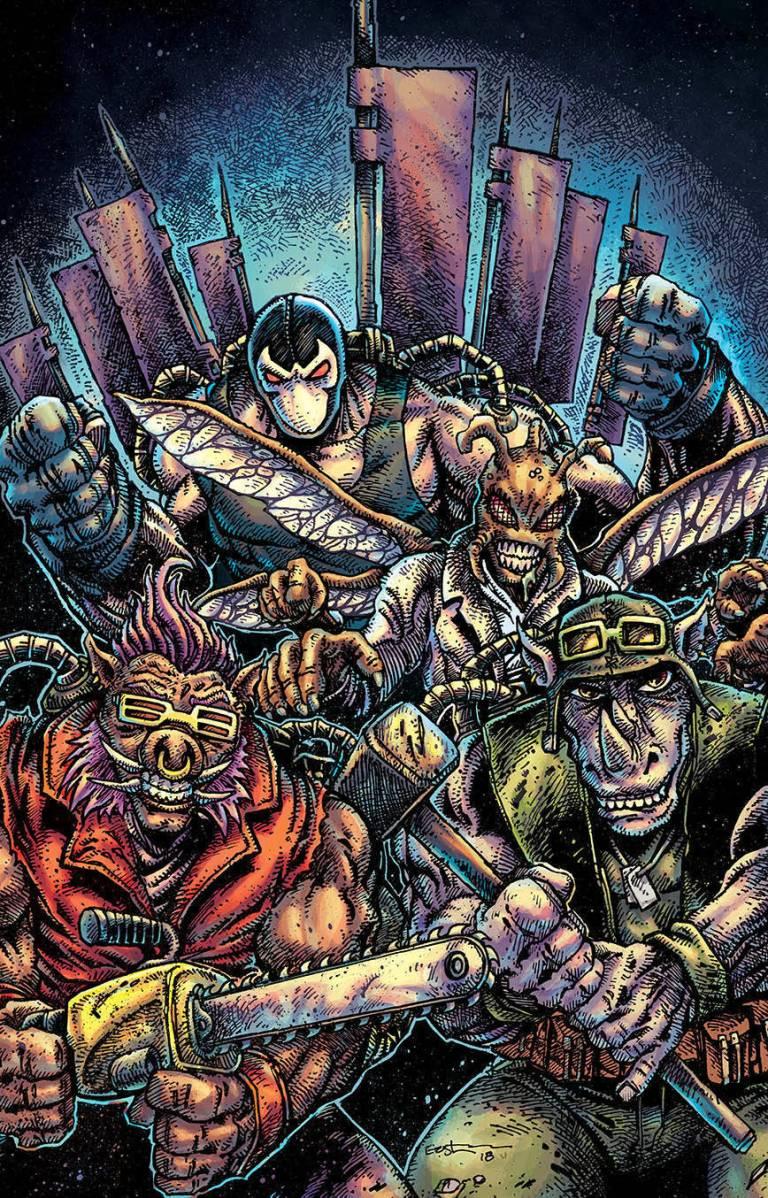 Batman Teenage Mutant Ninja Turtles II #5 (Cover B Kevin Eastman)