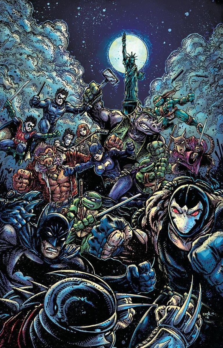 Batman Teenage Mutant Ninja Turtles II #6 (Cover B Kevin Eastman)