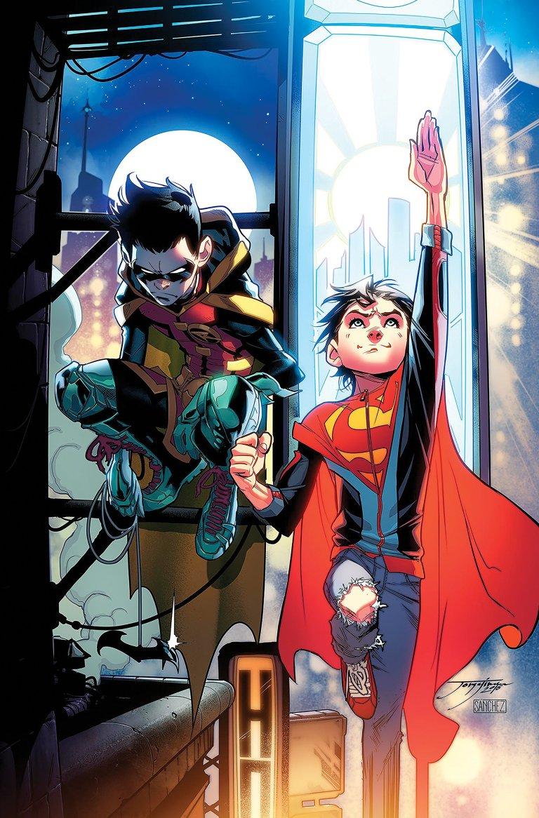 Adventures Of The Super Sons #1 (Cover B Jorge Jimenez)