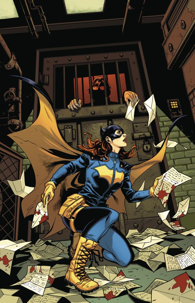 Batgirl Annual #2 (Emanuela Lupacchino Cover)