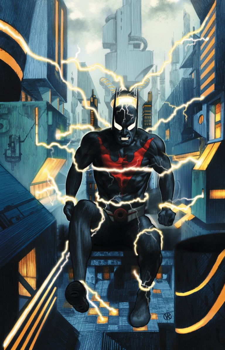 Batman Beyond #24 (Cover A Viktor Kalvachev)