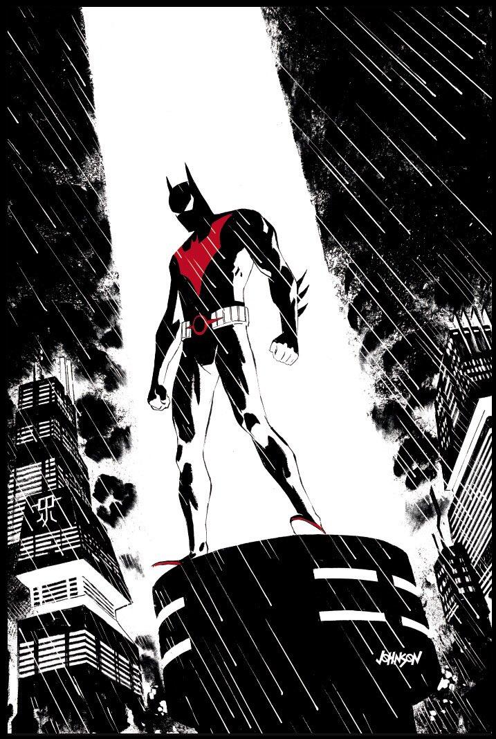 Batman Beyond #24 (Cover B Dave Johnson)