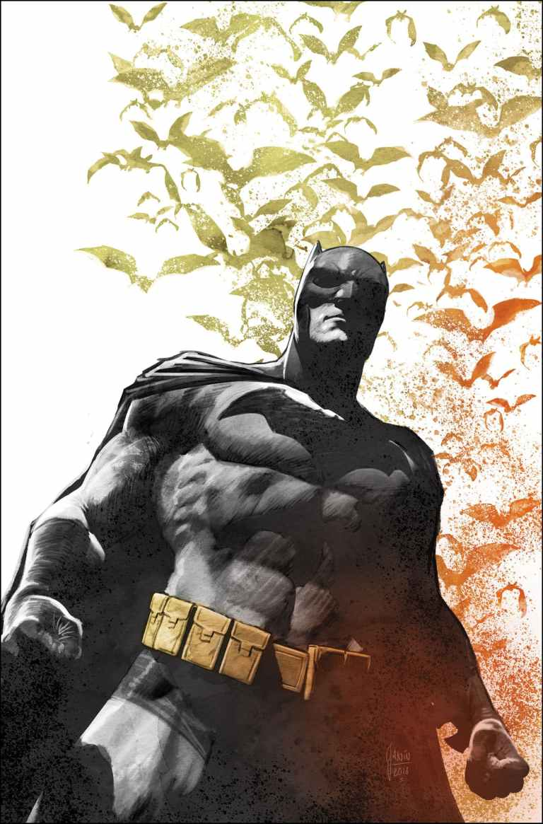 Batman Secret Files #1 (Mikel Janin Cover)