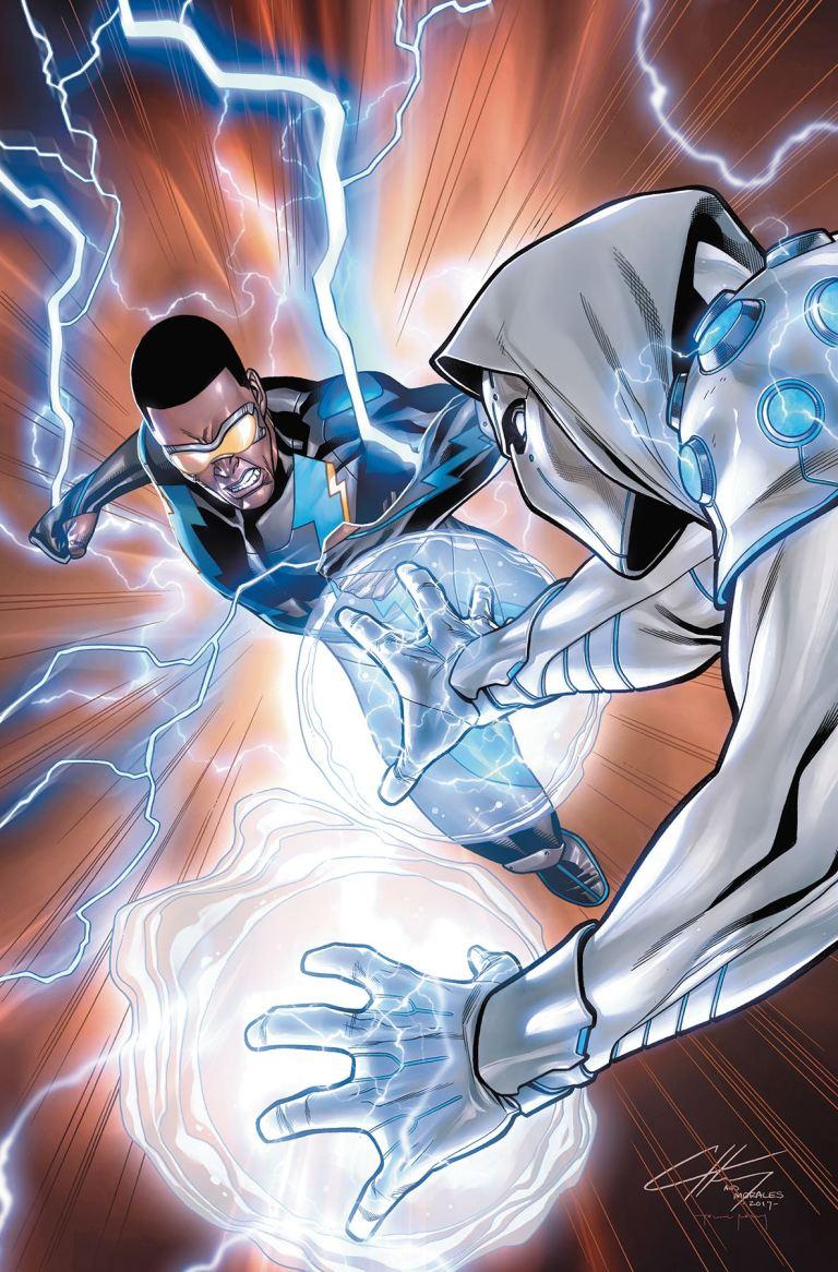Black Lightning Cold Dead Hands #4 (Clayton Henry Cover)