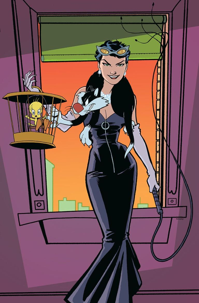 Catwoman Tweety And Sylvester Special #1 (Cover B Sandy Jarrell)