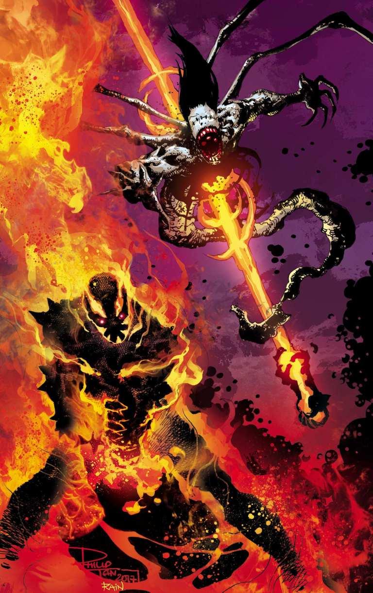 Curse Of Brimstone #4 (Philip Tan Cover)