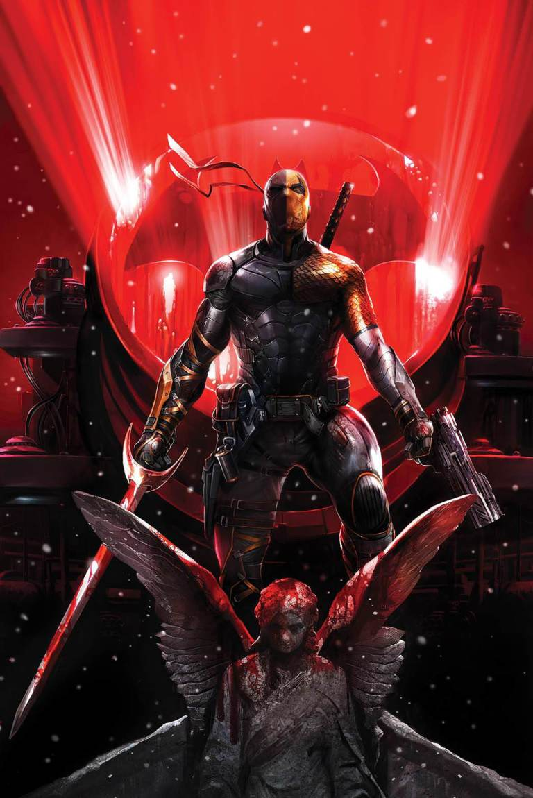 Deathstroke #32 (Cover B Francesco Mattina)