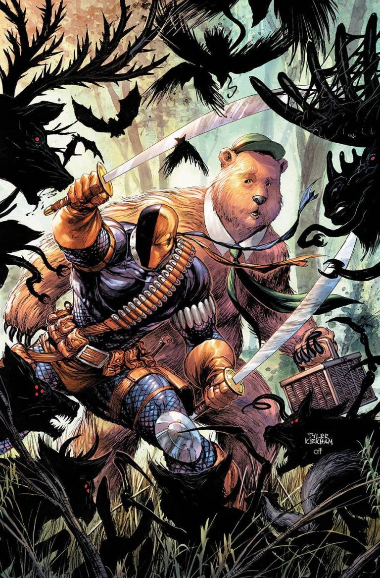 Deathstroke Yogi Bear Special #1 (Cover A Tyler Kirkham)