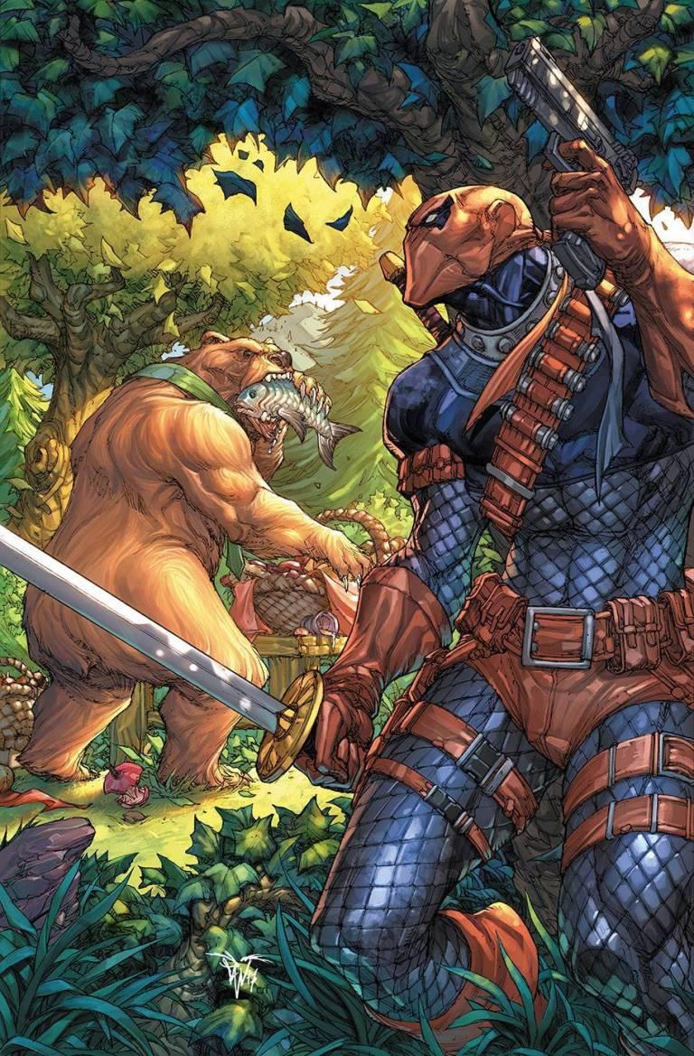 Deathstroke Yogi Bear Special #1 (Cover B Paolo Pantalena)