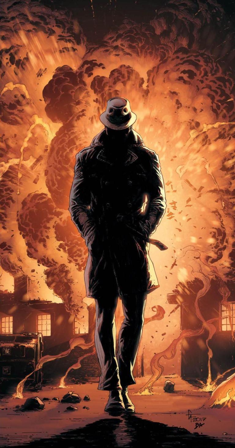 Doomsday Clock #4 (Cover B Gary Frank)