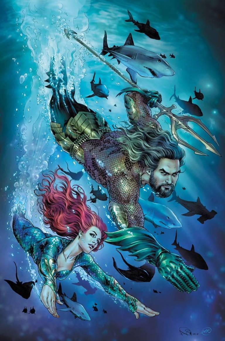 Aquaman #43 (Cover B Nicola Scott Aquaman Movie Variant)