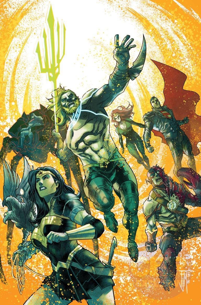 Aquaman Justice League Drowned Earth #1 (Cover A Francis Manapul)