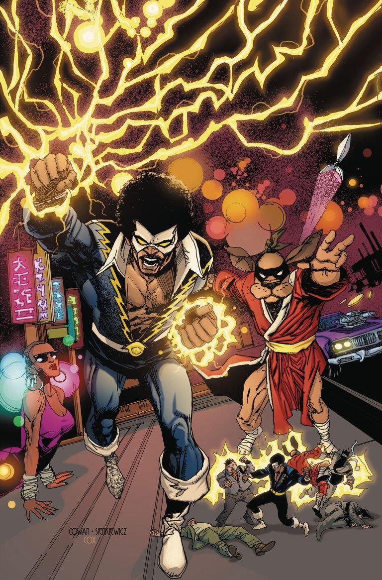 Black Lightning Hong Kong Phooey Special #1 (Cover A Denys Cowan & Bill Sienkiewicz)