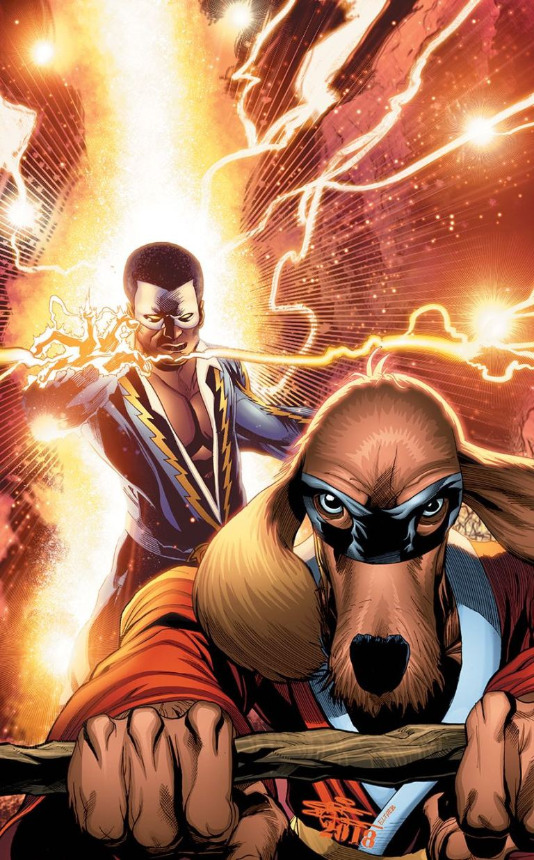 Black Lightning Hong Kong Phooey Special #1 (Cover B ChrisCross)