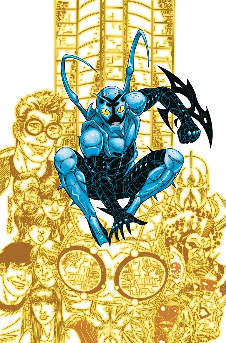 Blue Beetle #18 (Cover A Scott Kolins)
