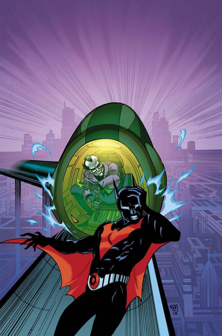 batman beyond #27 (cover a pasqual ferry)