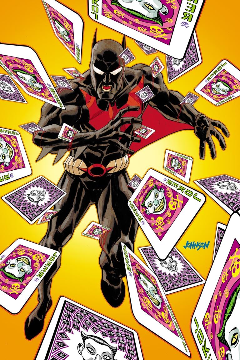 batman beyond #27 (cover b dave johnson)