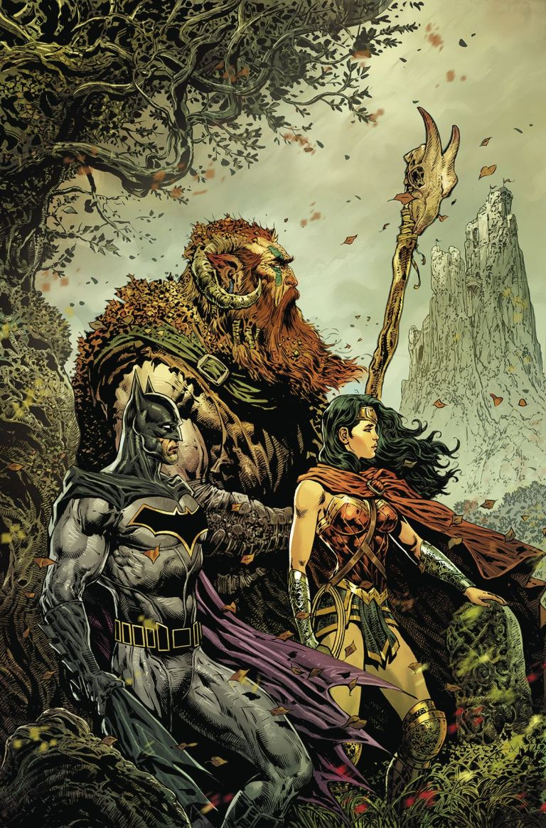 brave and the bold batman and wonder woman #1 (liam sharp cover)