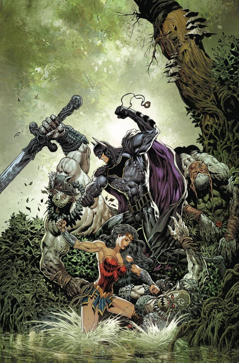 brave and the bold batman and wonder woman #3 (liam sharp cover)