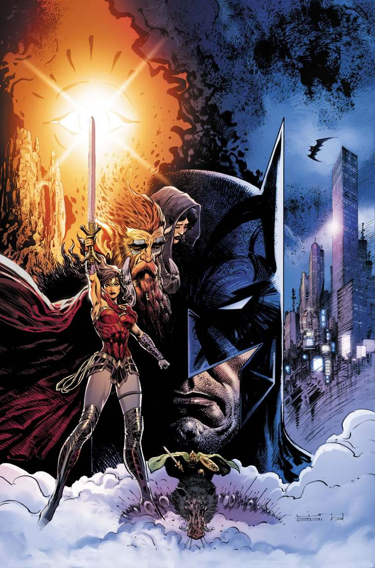 brave and the bold batman and wonder woman #6 (liam sharp cover)