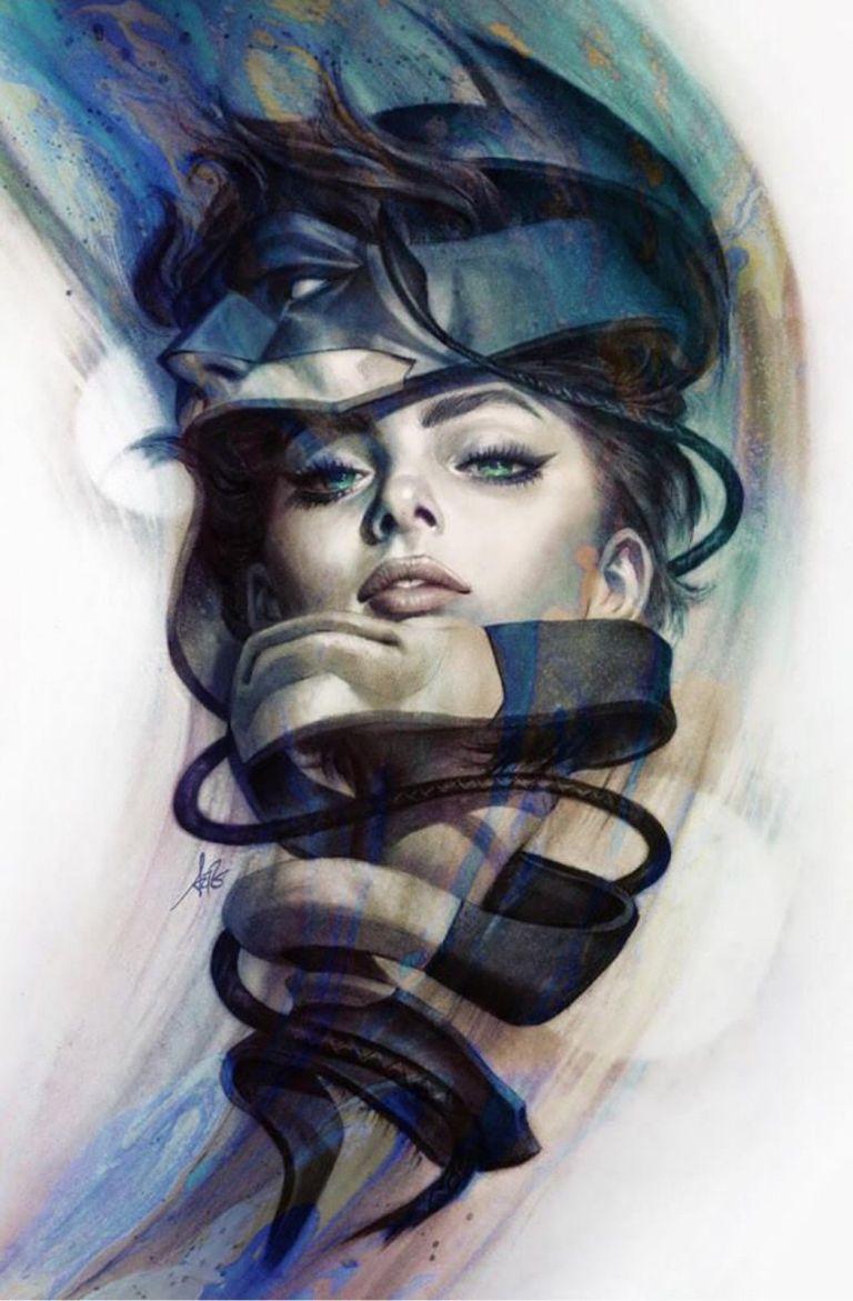 catwoman #5 (cover b stanley artgerm lau)