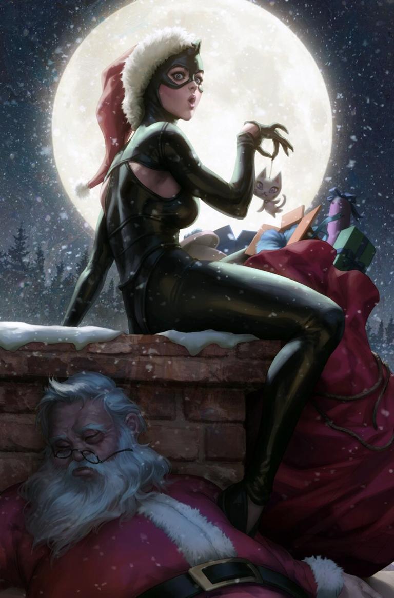 catwoman #6 (cover b stanley artgerm lau)