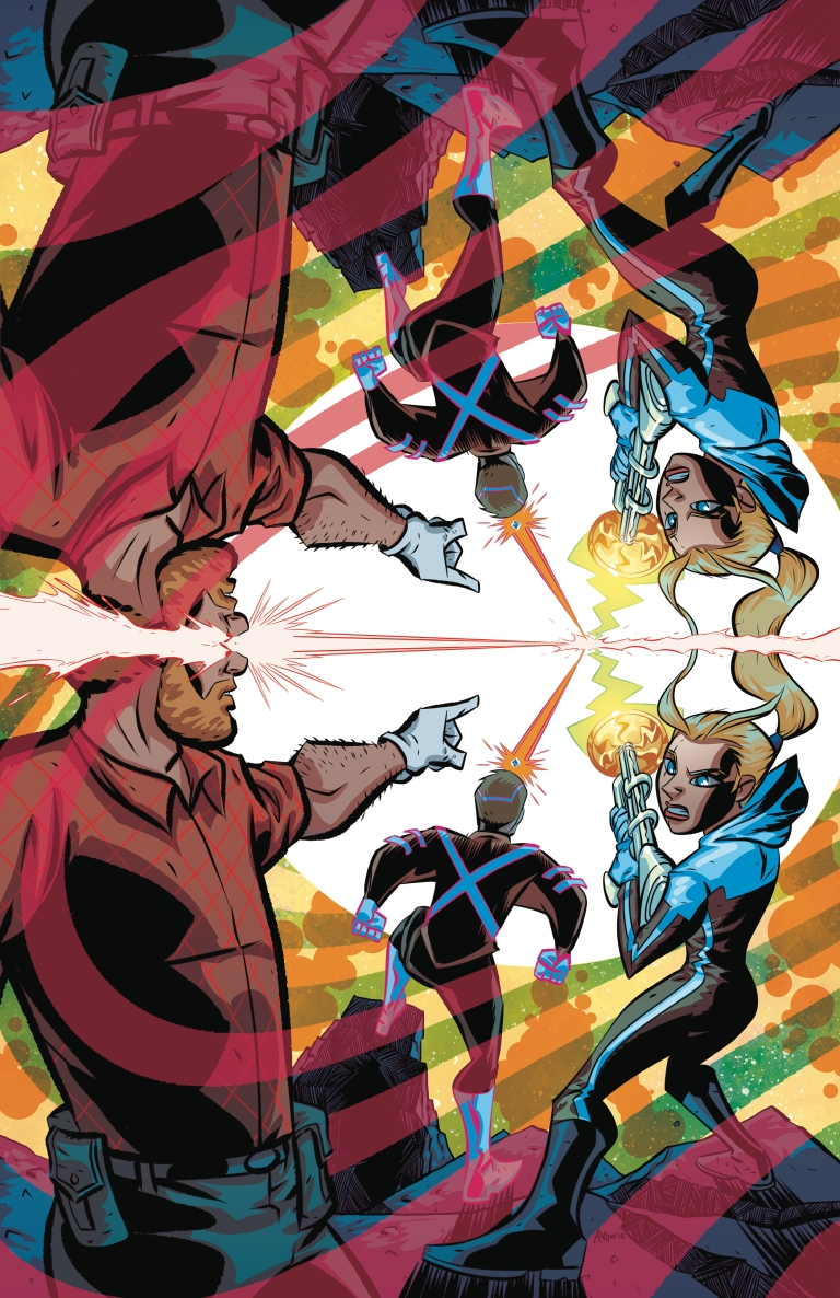 cave carson has an interstellar eye #3 (michael avon oeming cover)