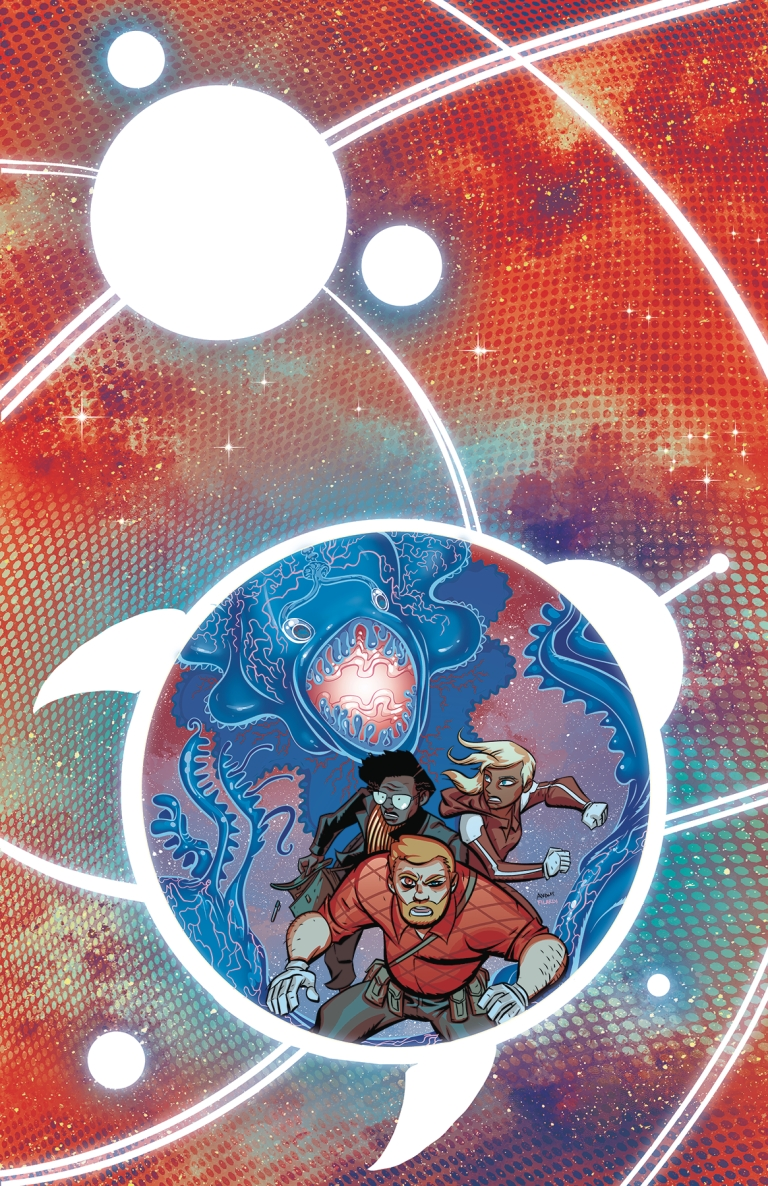 cave carson has an interstellar eye #4 (michael avon oeming cover)