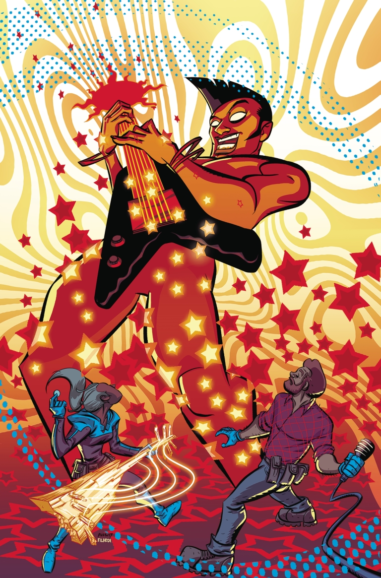 cave carson has an interstellar eye #5 (michael avon oeming cover)