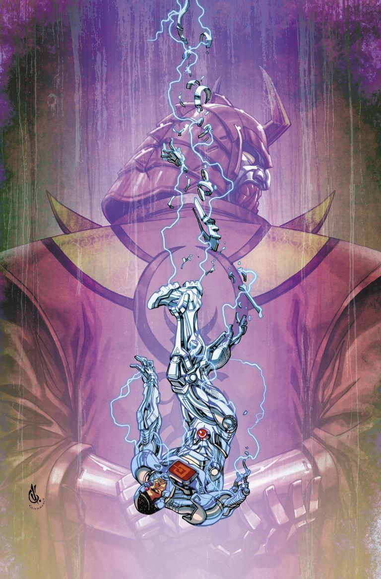 cyborg #22 (cover b carlos d'anda)