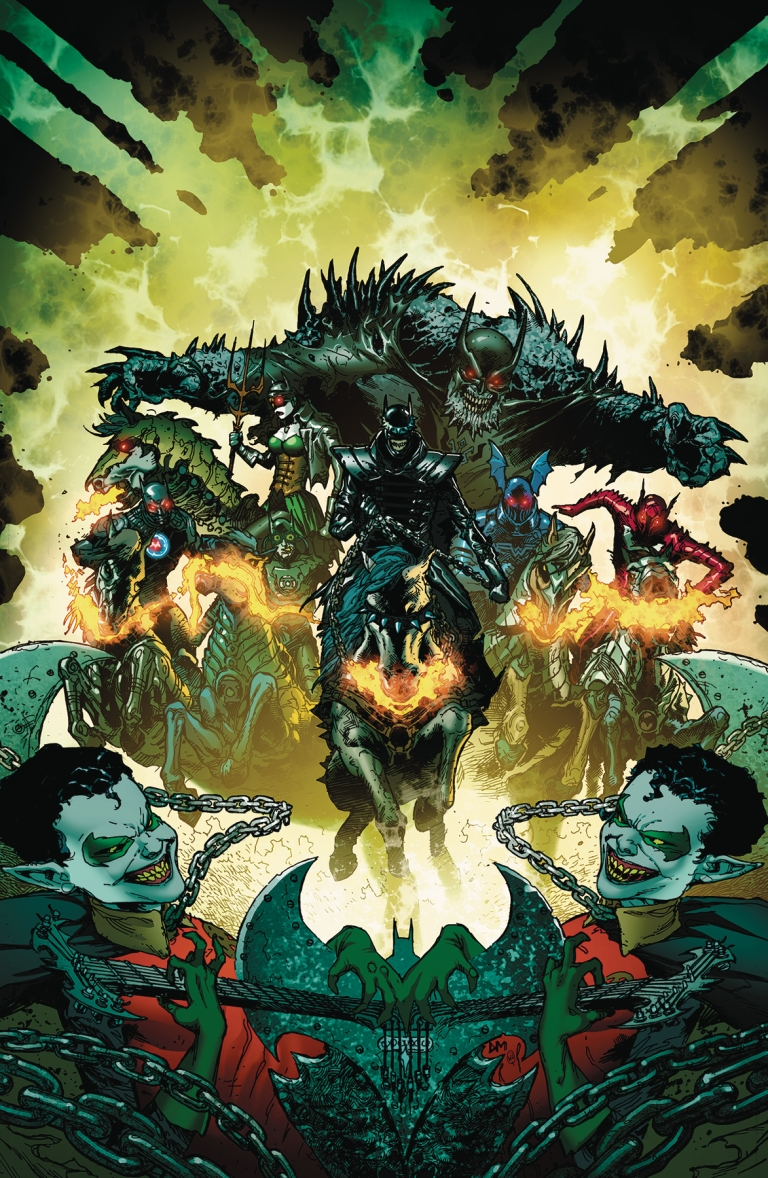 dark knights rising the wild hunt #1 (doug mahnke cover)