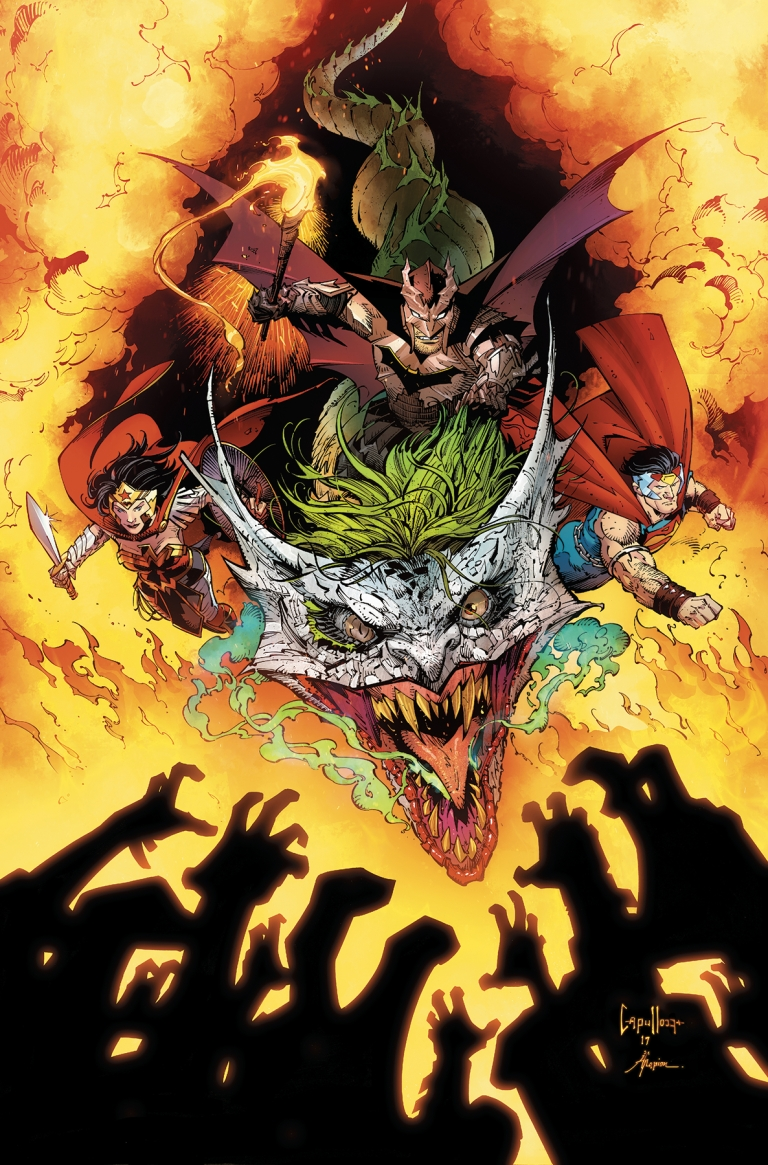 dark nights metal #6 (cover a greg capullo & jonathan glapion)
