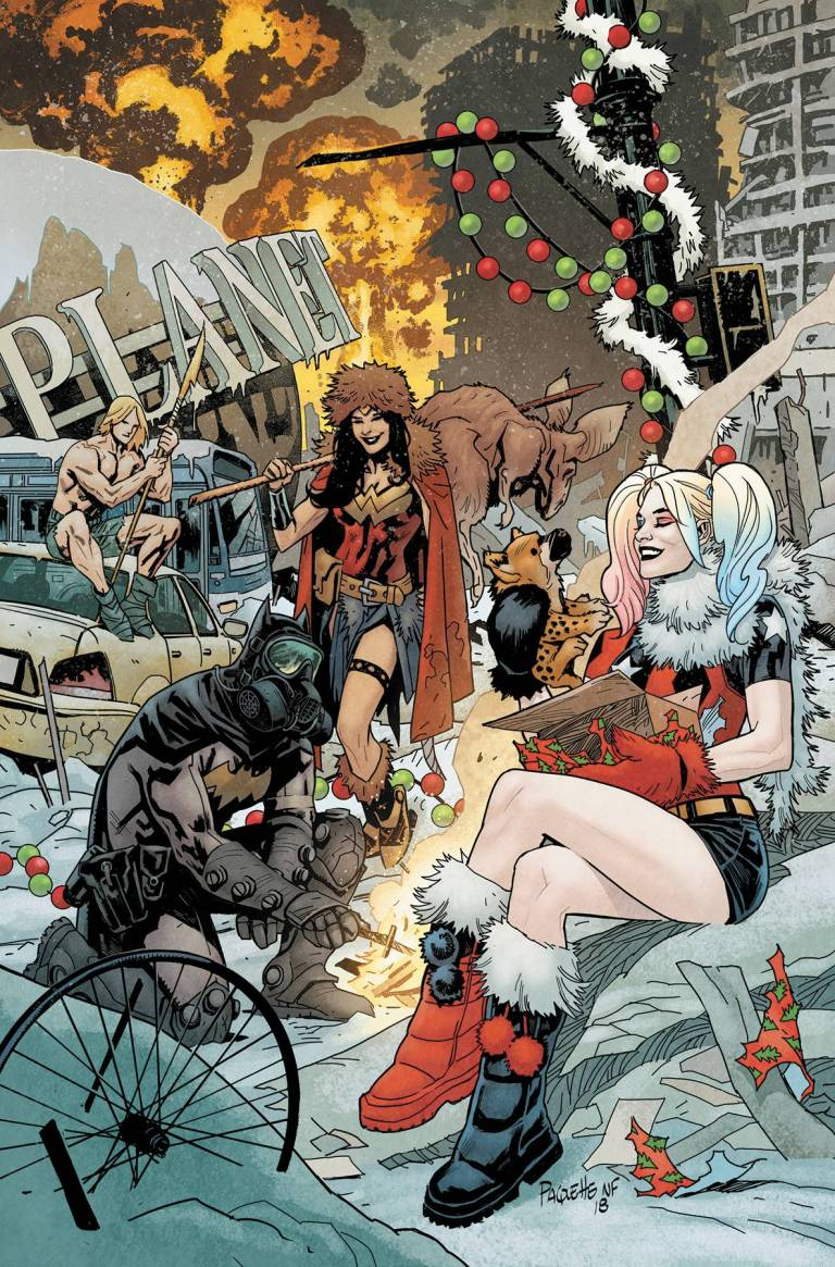 dc nuclear winter special #1 (yanick paquette cover)