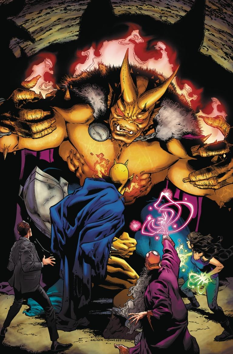 demon hell is earth #5 (andrew hennessy & bradley walker cover)