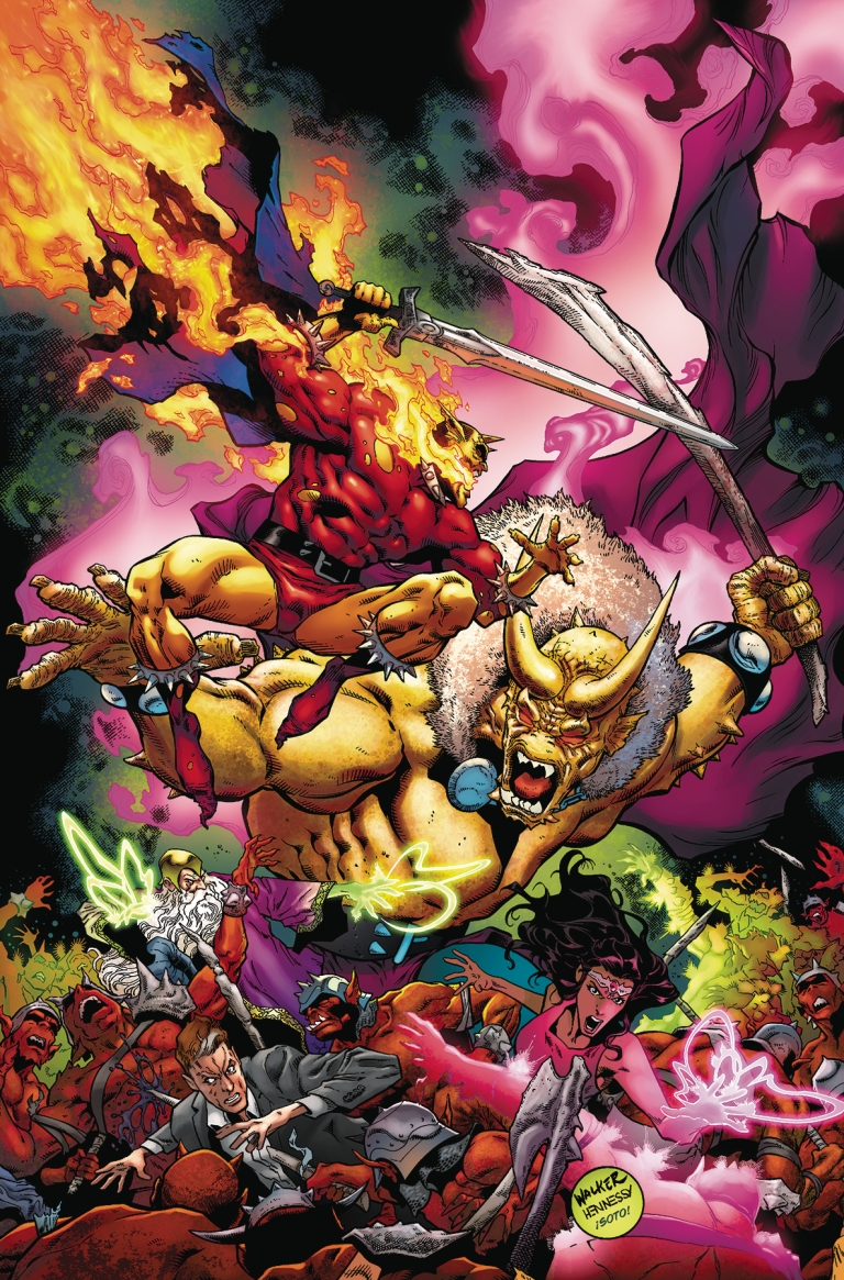 demon hell is earth #6 (brad walker & andrew hennessy cover)