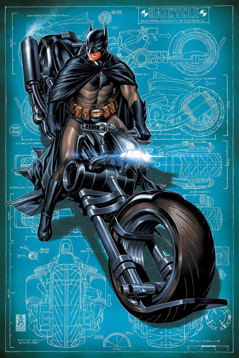 detective comics #993 (cover b mark brooks)