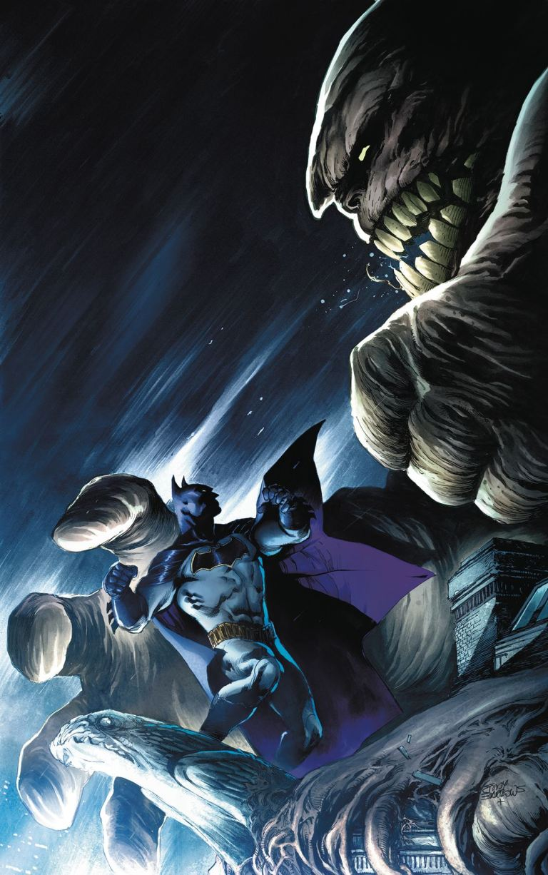detective comics annual #1 (eber ferreira & eddy barrows cover)