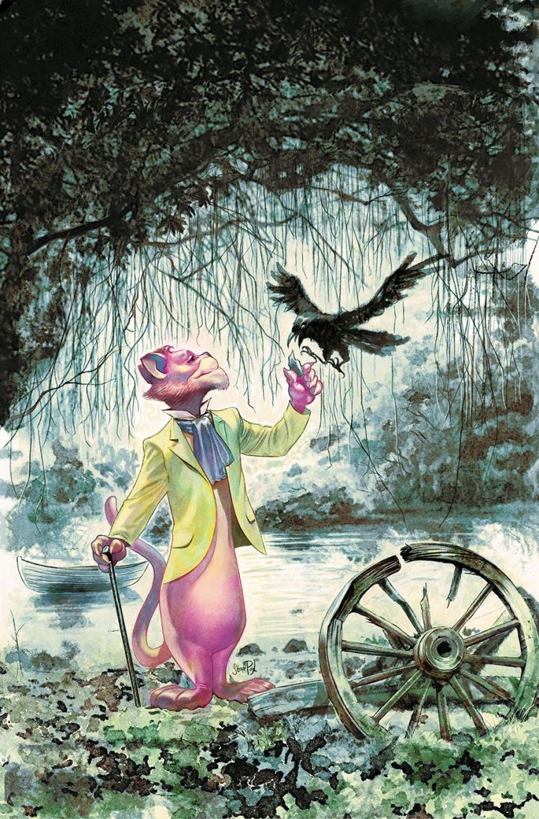exit stage left the snagglepuss chronicles #2 (cover b steve pugh)