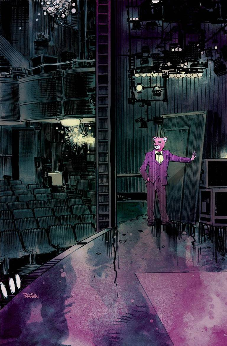 exit stage left the snagglepuss chronicles #3 (cover b dan panosian)
