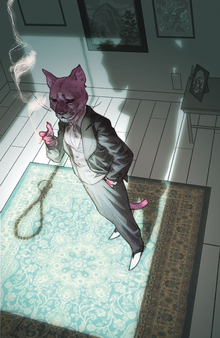 exit stage left the snagglepuss chronicles #5 (cover a ben caldwell)