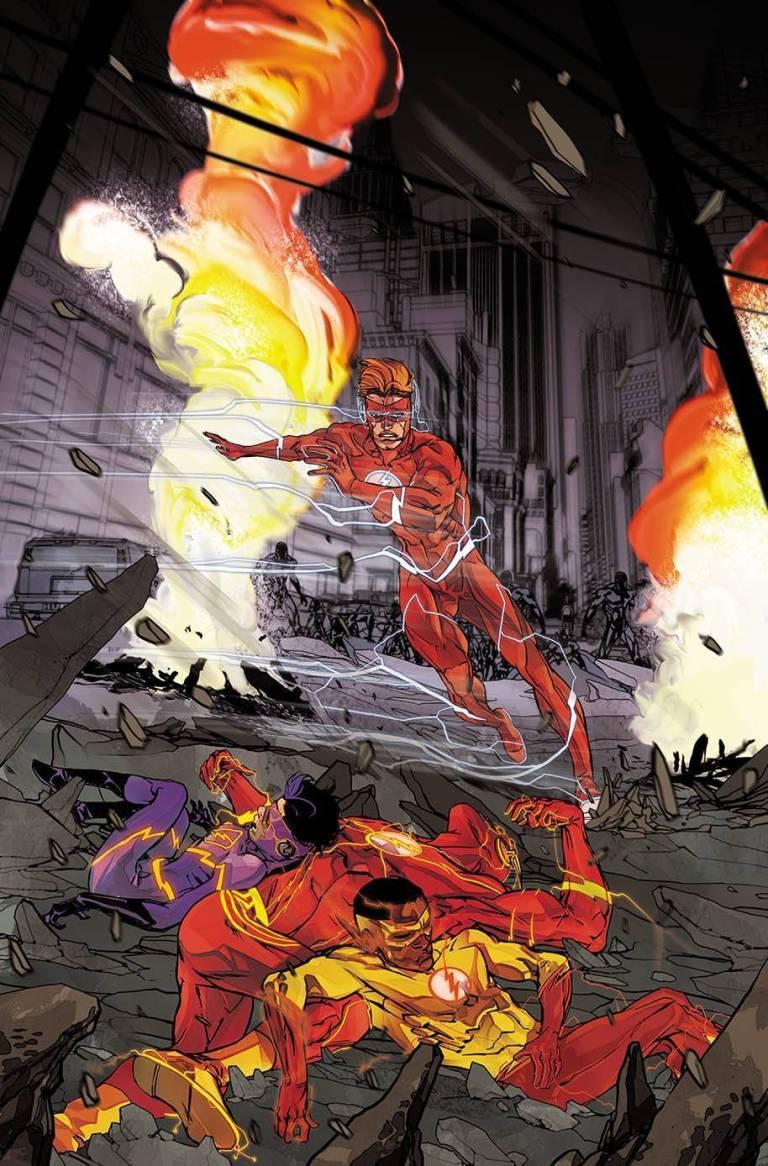 flash #41 (cover a carmine di giandomenico)