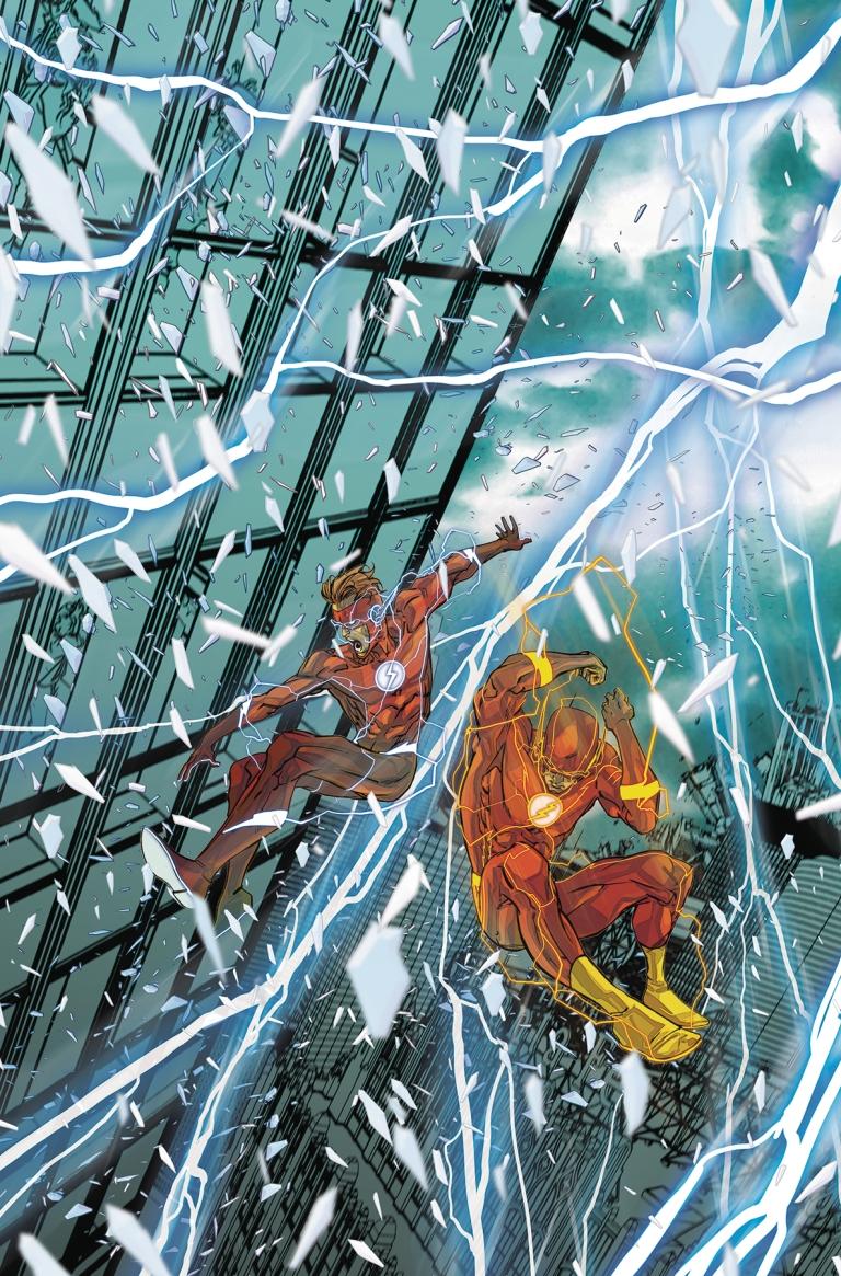 flash #44 (cover a carmine di giandomenico)