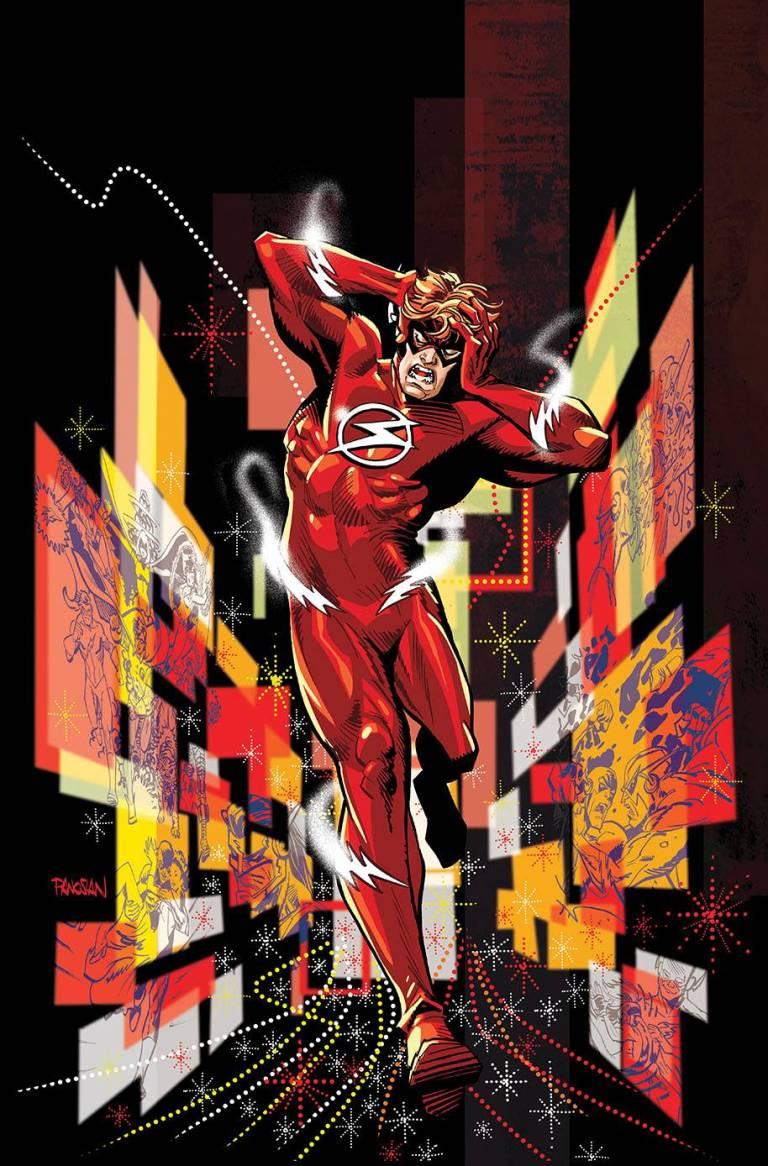 flash #46 (cover a dan panosian)