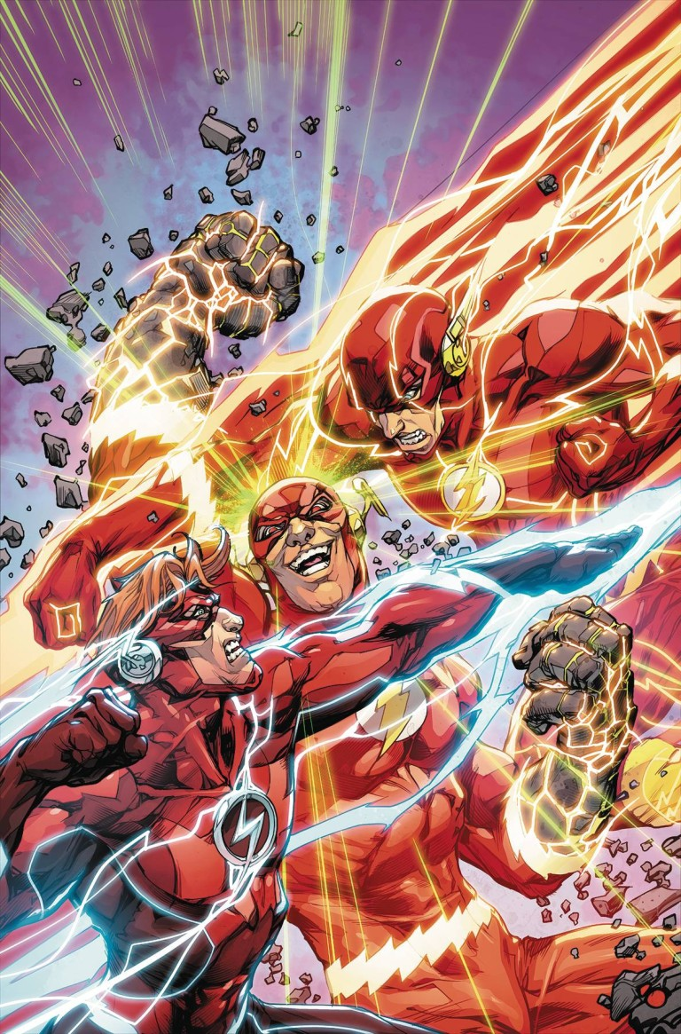 flash #50 (cover a howard porter)