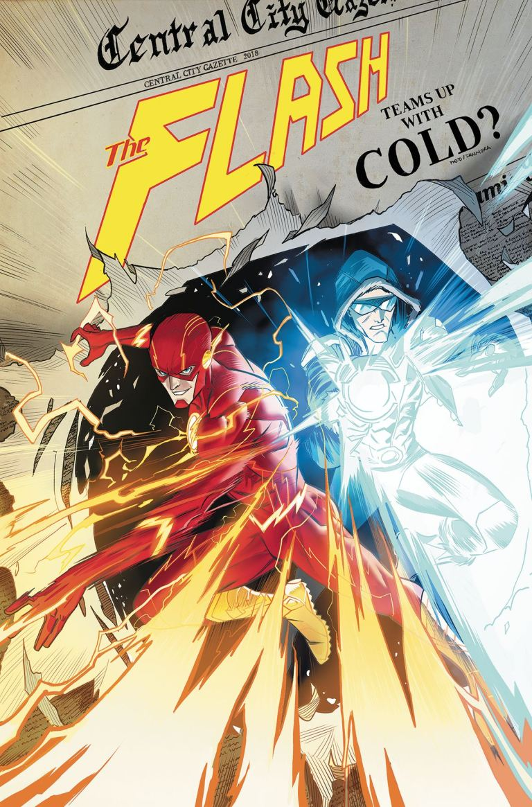 flash #52 (cover a dan mora)