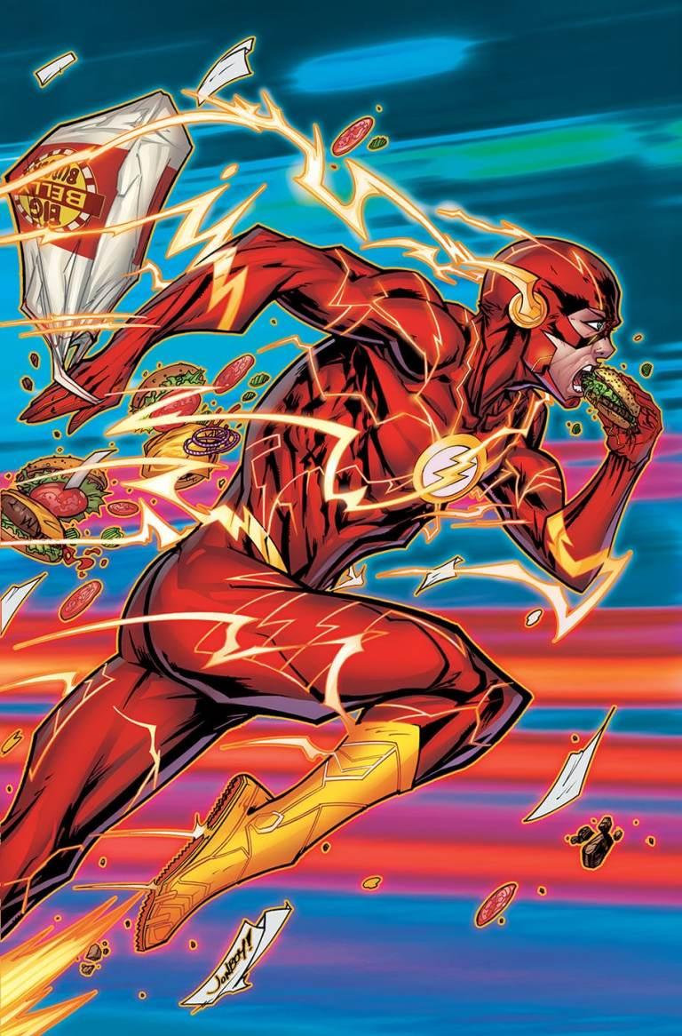 flash #53 (cover b jonboy meyers)