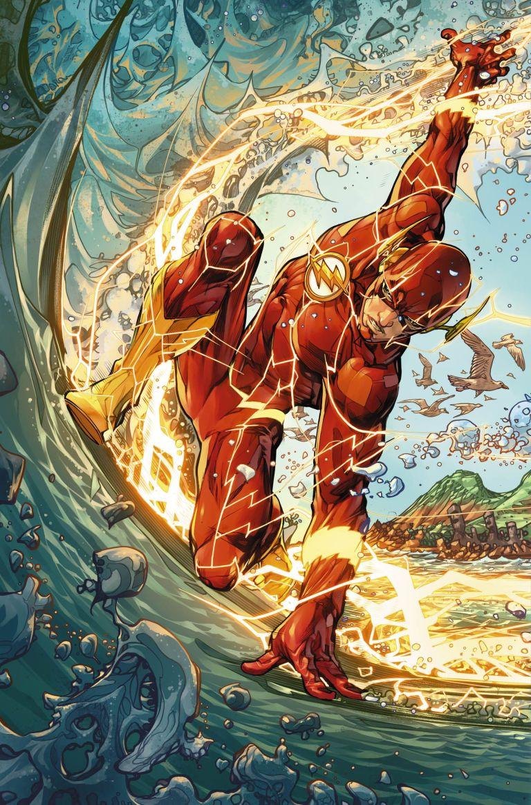 flash #55 (cover b howard porter)